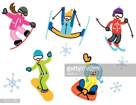 Winter Sports premium clipart.