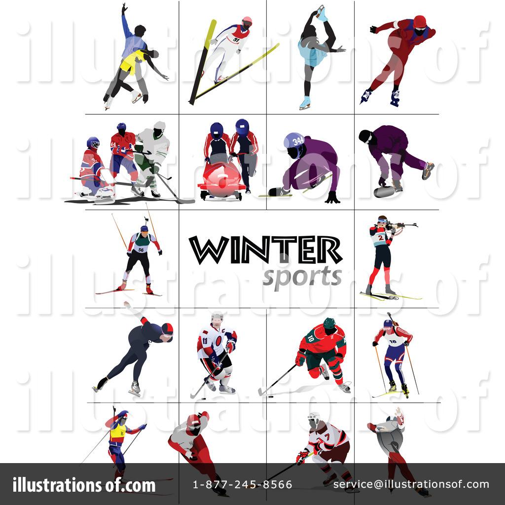 Winter Sports Clipart #1067957.