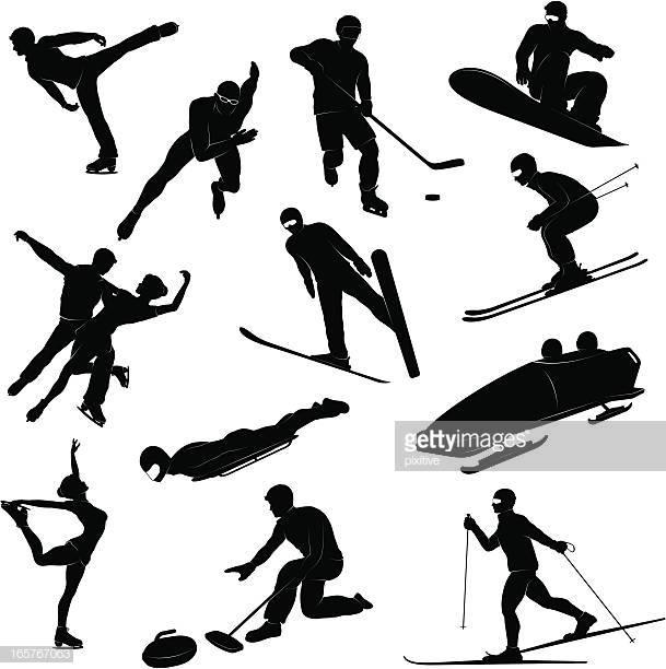30 Top Winter Sport Stock Illustrations, Clip art, Cartoons, & Icons.
