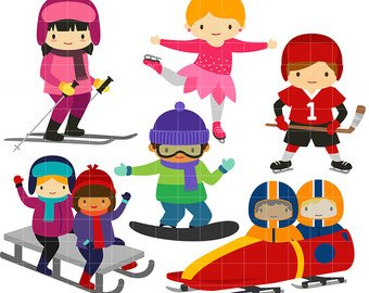 Winter sports clipart 2 » Clipart Station.