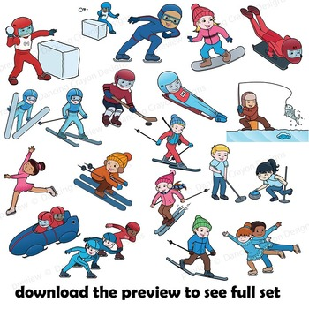 Winter sports clipart » Clipart Station.