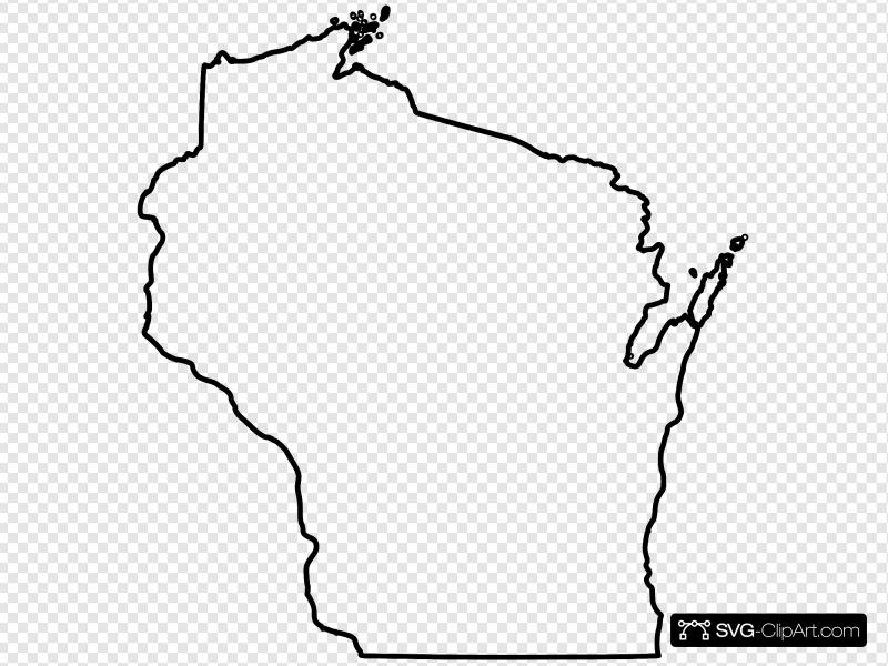 Wisconsin Clip art, Icon and SVG.