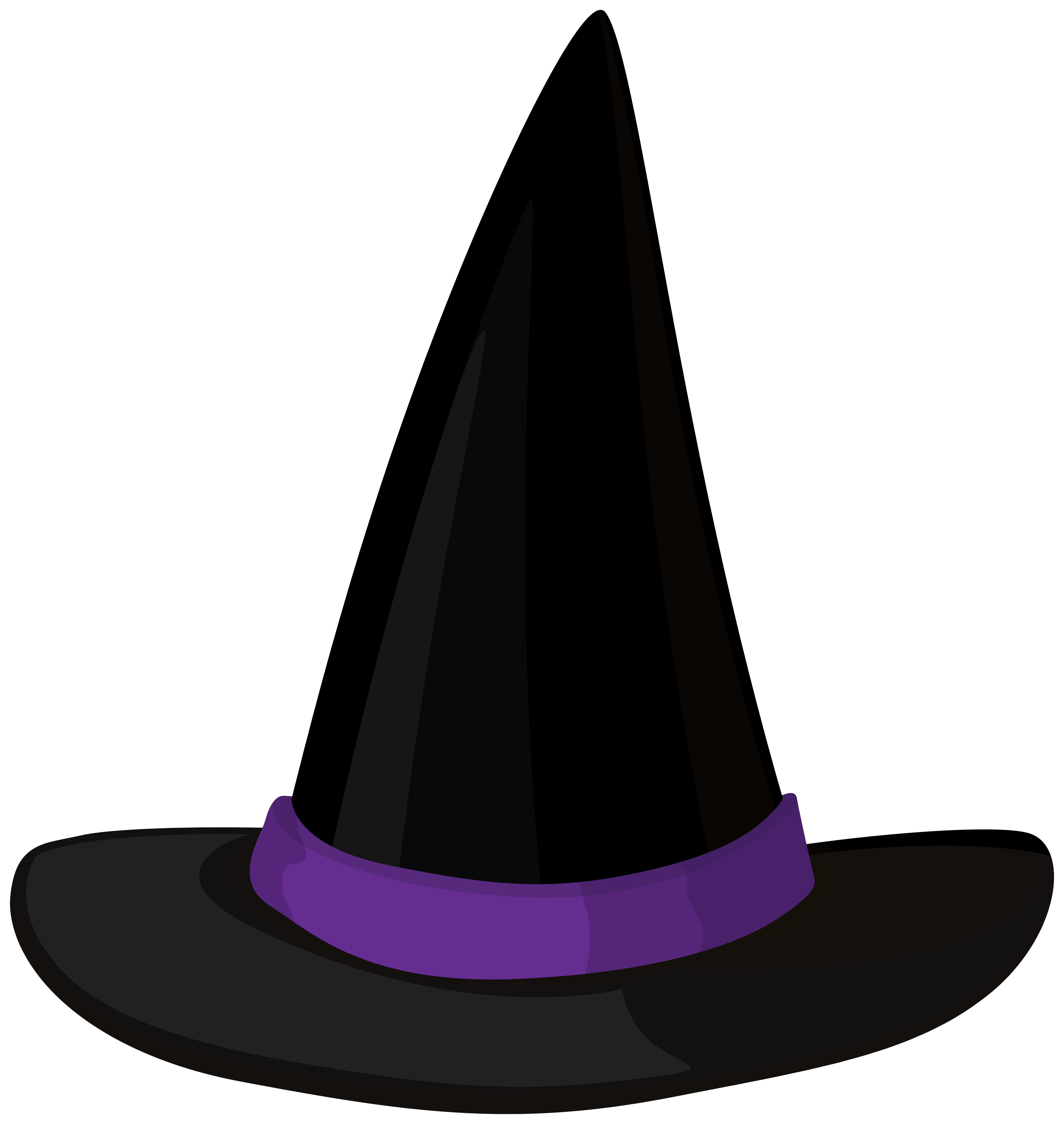 Witch Hat PNG Clipart.