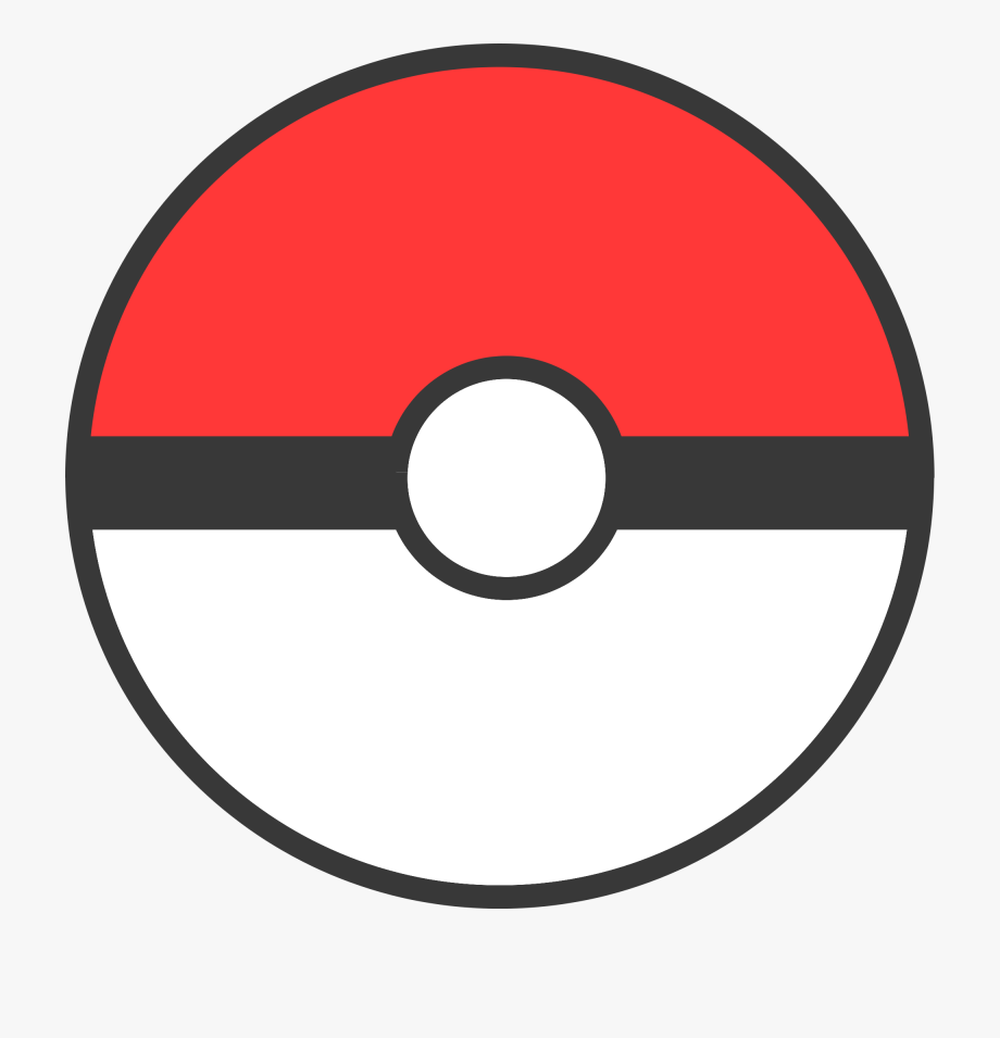 Pokeball Clipart Clear Background.