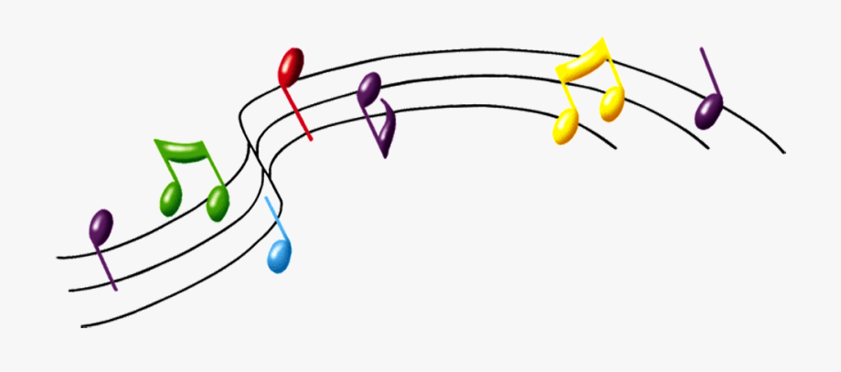 Musical Notes Clipart Transparent Background.