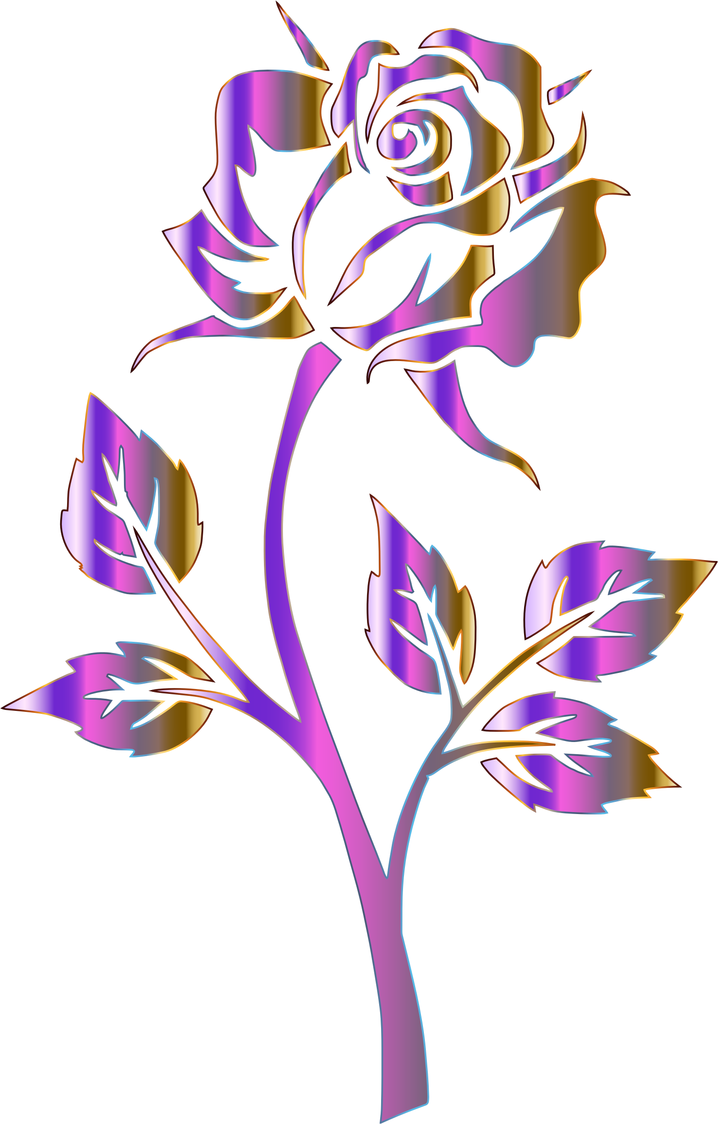 Purple flower graphic library stock no background png files, Free.