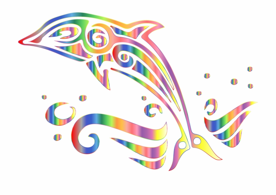 Dolphin Clipart No White Background.