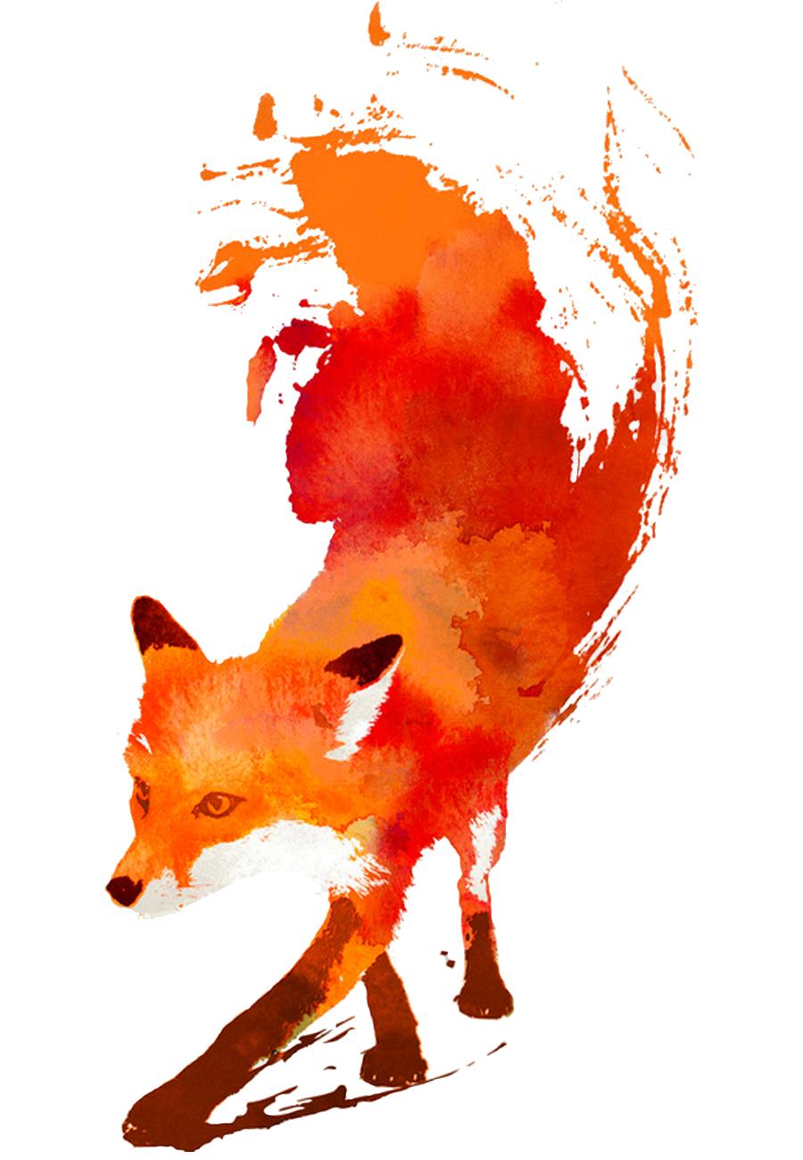 Fox Clipart Transparent Background.