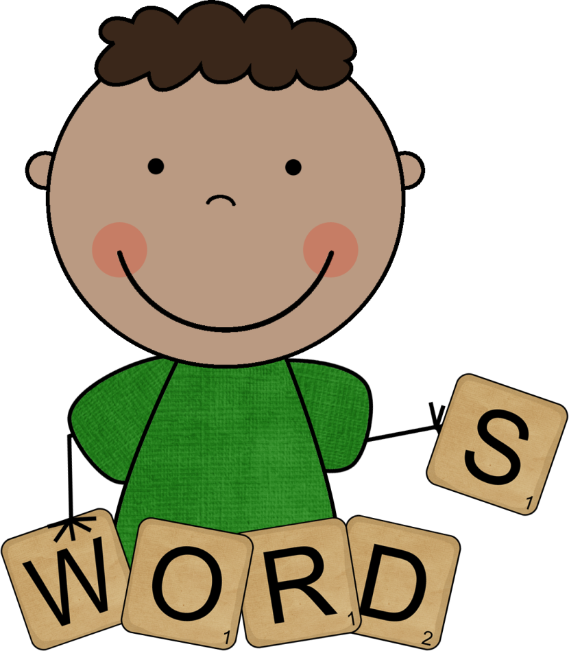 Word Study Clipart.