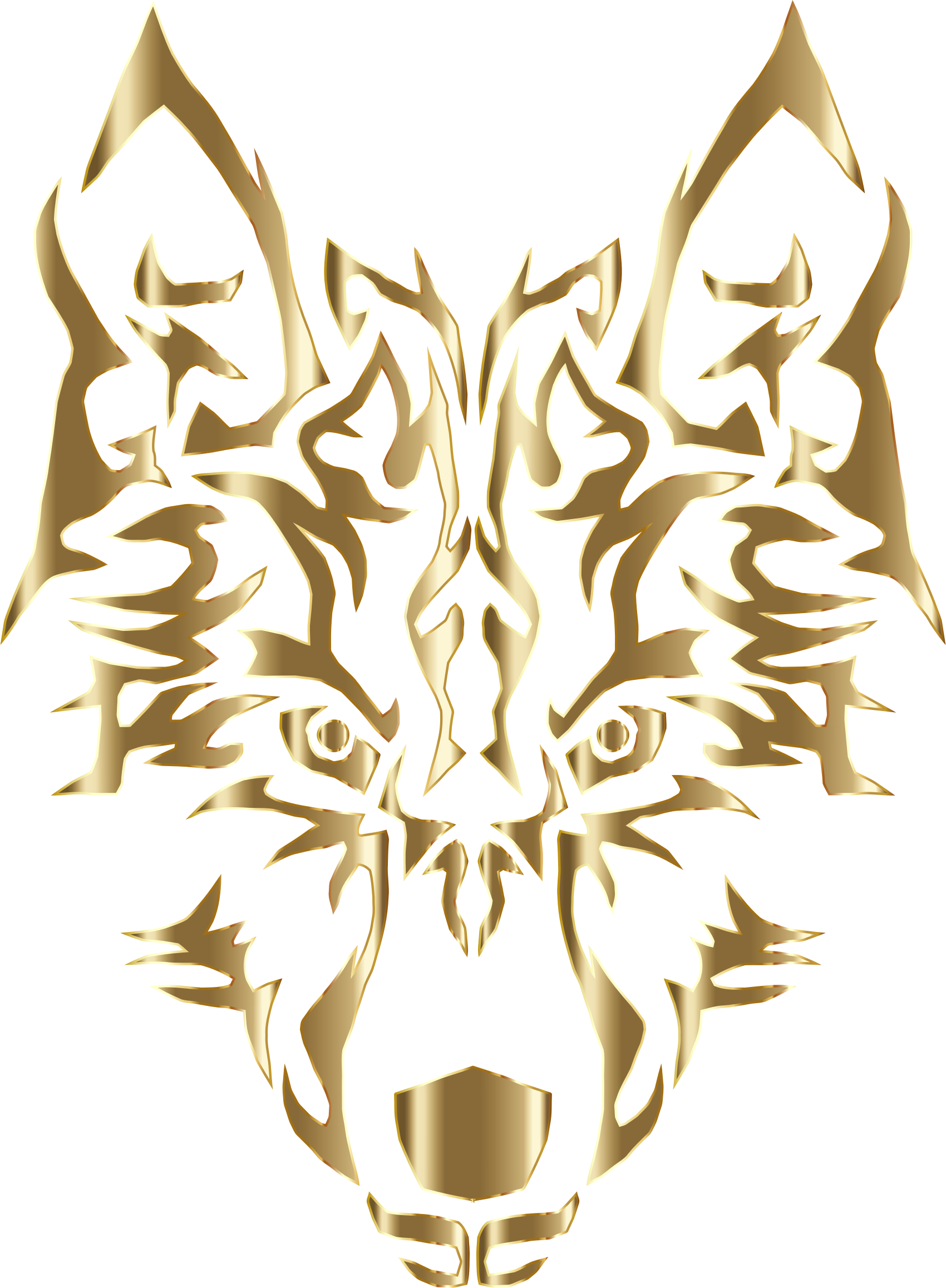 Tribal Wolf Royalty Free Cliparts, Vectors #482528.
