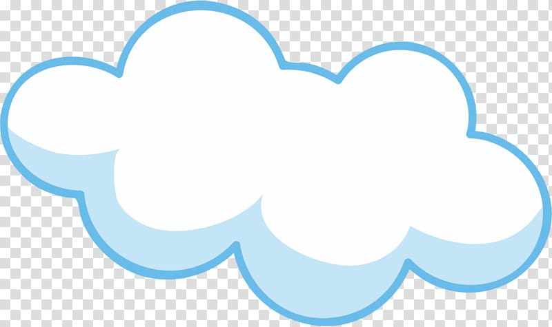 Cartoon Cloud Drawing , cloud, white cloud transparent.