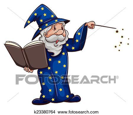 Wizard Clipart.