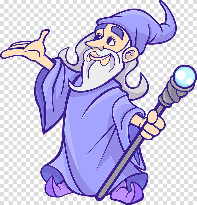 Wizard illustration, Magician , Wizard Free transparent.