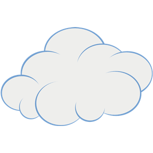 cloud clipart, cliparts of cloud free download (wmf, eps.