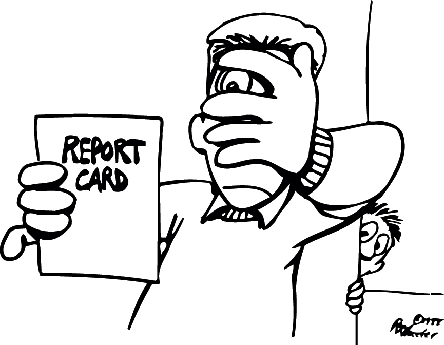 1498 Report free clipart.