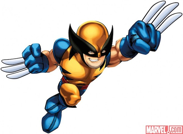 X Men Wolverine Clipart.