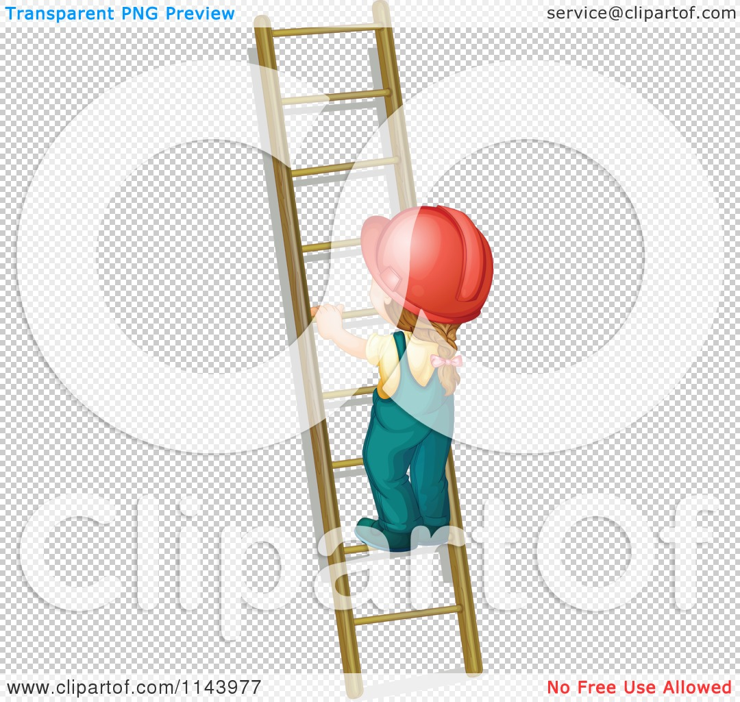 Showing post & media for Cartoon woman with ladder.