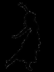 Dancing Woman Clipart.