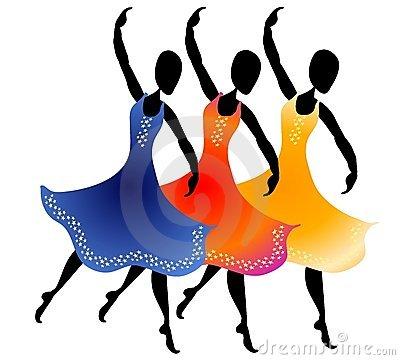 Clipart Woman Dance.
