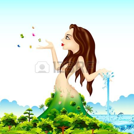 1,017 Mother Nature Environment Stock Vector Illustration And.