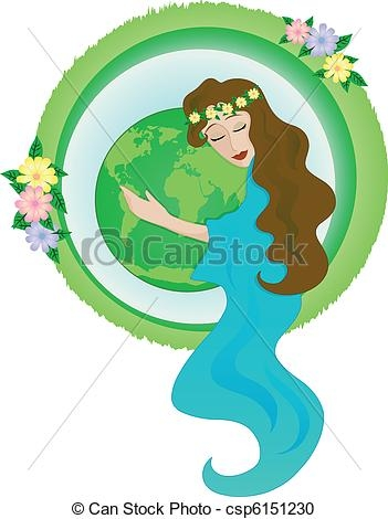 Mother Nature Clipart.