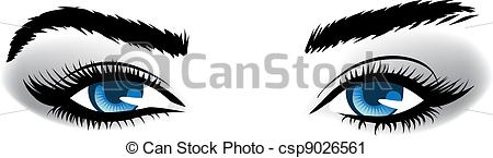 Blue eyes cartoon Clip Art Vector Graphics. 7,373 Blue eyes.