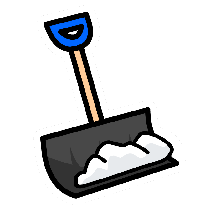 Free Clipart Shoveling Snow.
