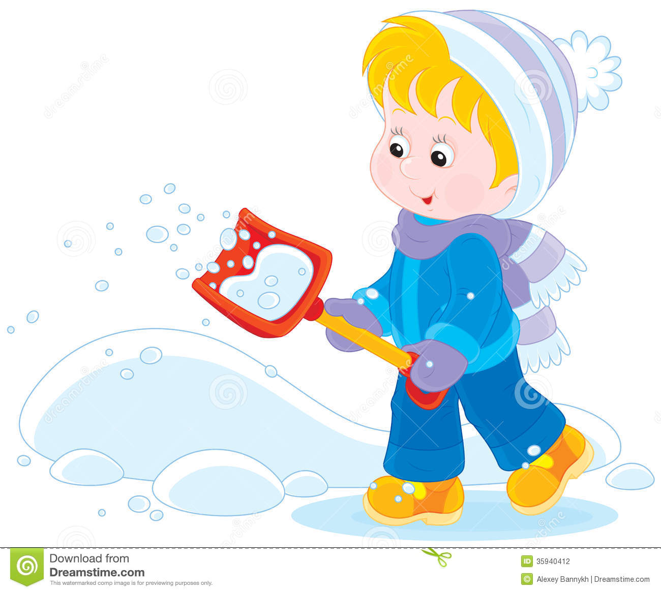 Showing post & media for Cartoon woman shoveling snow.