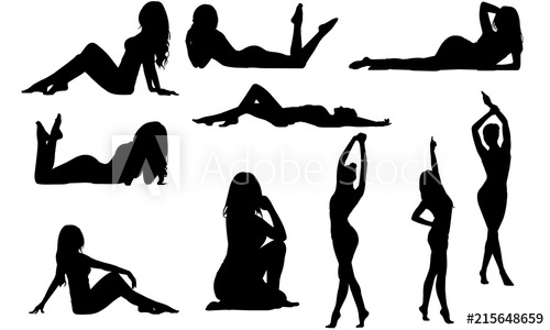 Fit Woman Silhouette.