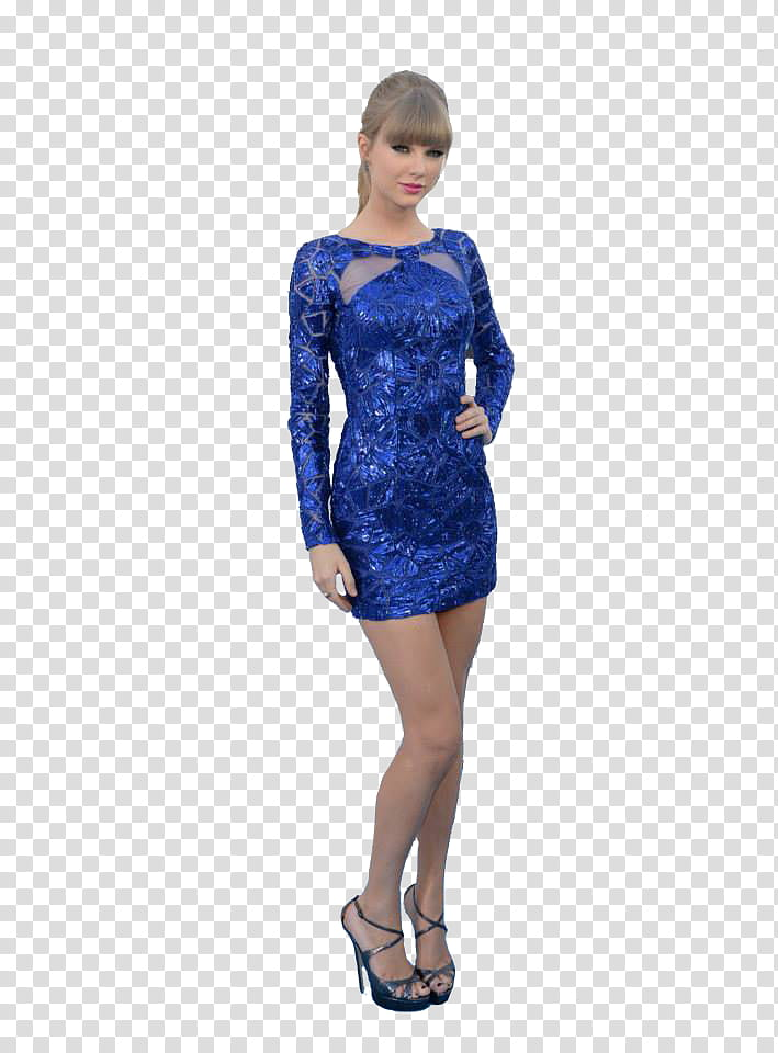 Taylor swift, woman standing while holding her waist.