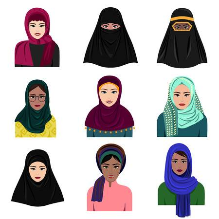 2,440 Saudi Women Cliparts, Stock Vector And Royalty Free Saudi.