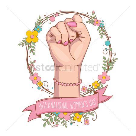International Women\'s Day Clipart.