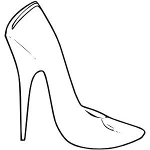 High Heel Shoes Women Fashion clip art.