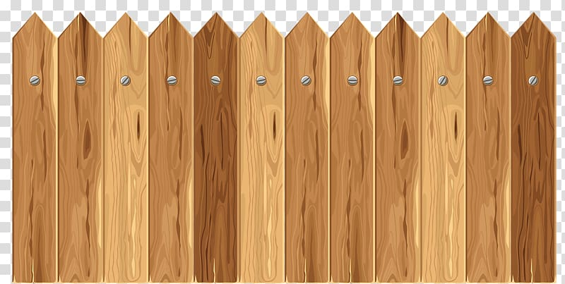 Wood fences transparent background PNG clipart.