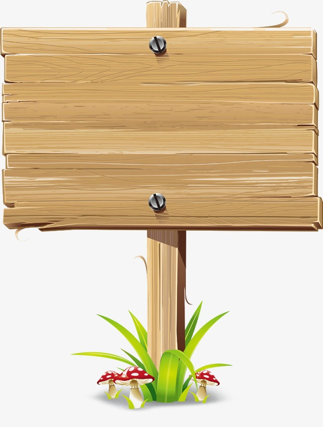 Wood sign clipart 5 » Clipart Station.