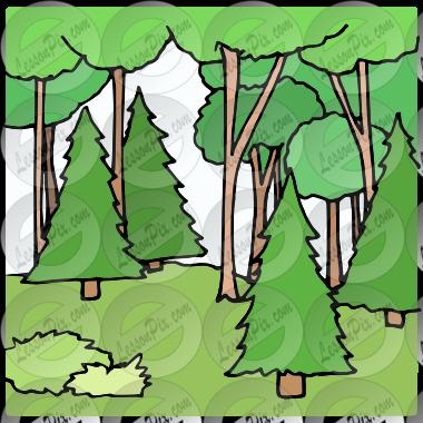Clipart forest woods, Clipart forest woods Transparent FREE.