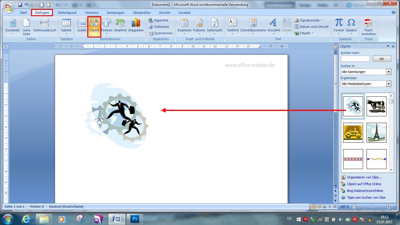 Word clipart einfügen 3 » Clipart Station.