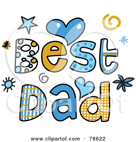 Clipart Word Dad.