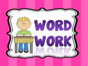 Similiar Word Work Activities Clip Art Keywords.