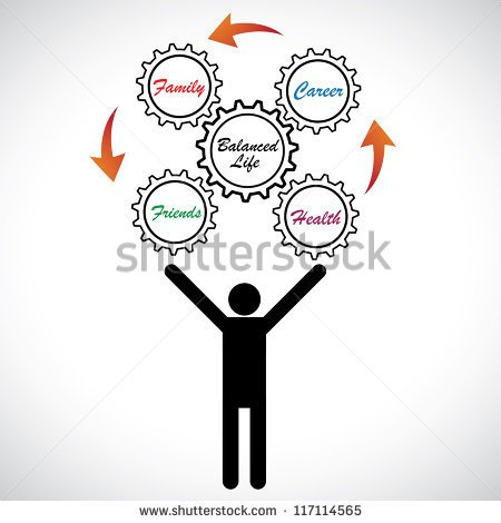 work life balance in clipart work life fit puzzle collection.
