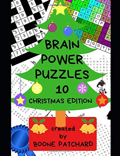 Brain Power Puzzles 10: A Christmas Activity Book of over.