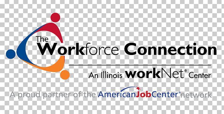 The Workforce Connection Logo Brand Illinois Workforce.