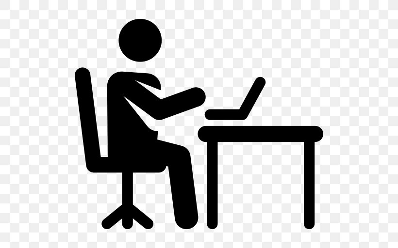 Office Clipart Working, PNG, 512x512px, Office.