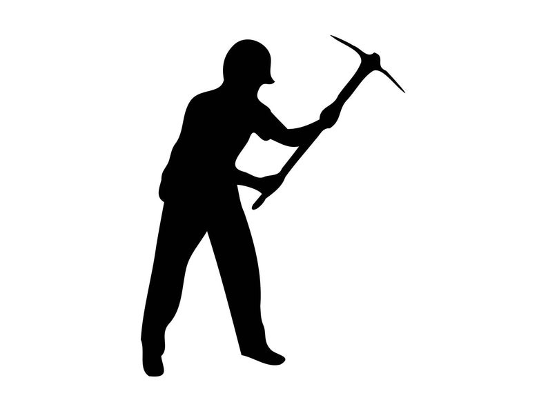 Working Man Svg Vector, Working Man Dxf Clipart, Working Man Svg Cutting  Image Clip Art, Working Man Silhouette Cut File, Working Man Png.