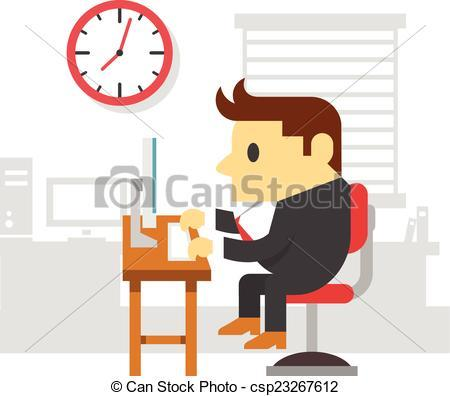 Working man in office clipart 4 » Clipart Portal.