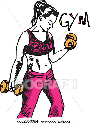 clipart working out #10