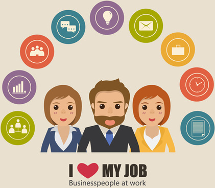 Vector clipart people working free vector download (11,074 Free.
