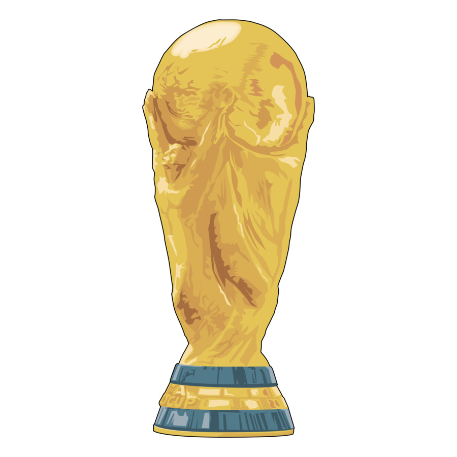World Cup Trophy Cartoon.