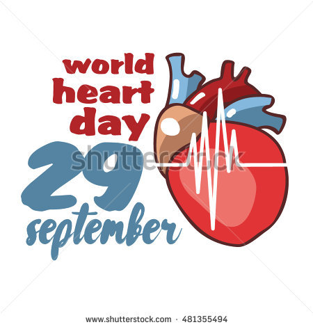 World Heart Day Stock Images, Royalty.