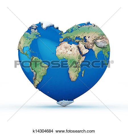 Heart shaped earth Illustrations and Clipart. 407 heart shaped.